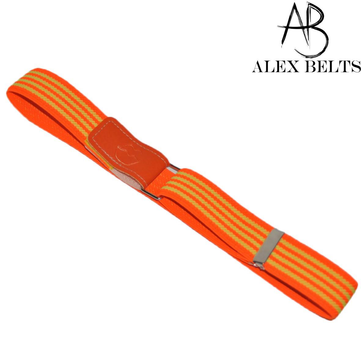 Детский ремень-резинка на липучке (двух-цветный) 25 мм купить оптом в Одессе