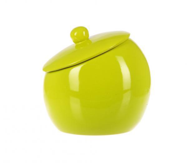 Баночка для ваты Нора зеленый