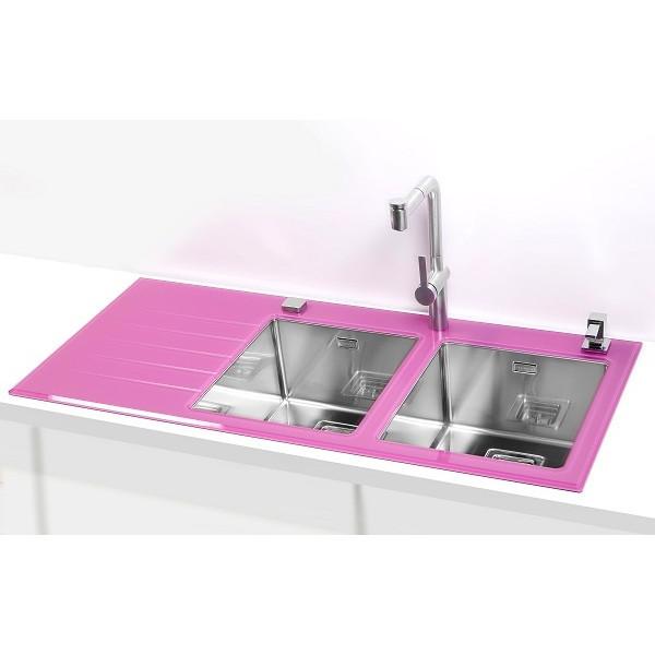 Мойка кухонная комбинированная в столешницу Alveus Crystalix 30