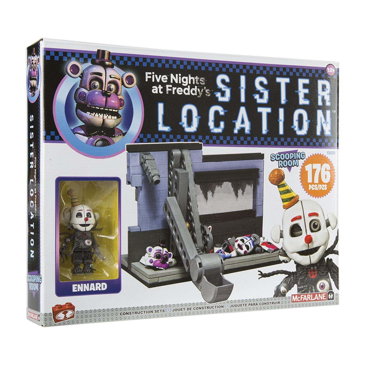 Конструктор 5 ночей с Фредди McFarlane Toys Five Nights At Freddy's Medium Construction Set, Scooping Room