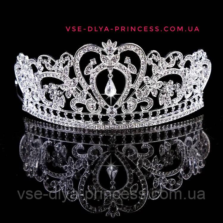 Корона, диадема, тиара, высота 6,5 см.