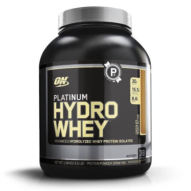 Протеин платинум (Hydrowhey), Optimum Nutrition, 1.59 кг