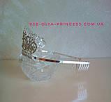 Корона, диадема, тиара, высота 6,5 см., фото 2