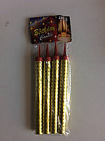 Свеча фейерверк 15 см.