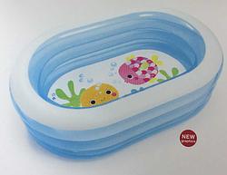"""Надувной бассейн """" Китенок """" для малышей. Детская надувная продукция Intex. Бассейны и надувная продукция."""