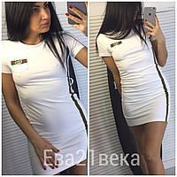 Платье полосы Гуччи, 2 цвета, двухнитка, фото 1