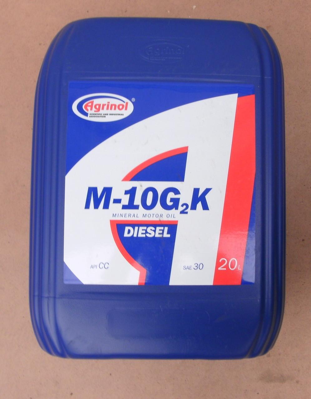 Минеральное масло М-10Г2к (20 л)