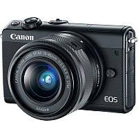 2209C048 Цифр. фотокамера Canon EOS M100 + 15-45 IS STM Black, 2209C048
