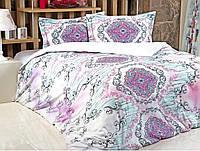 Комплект постельного белья Irya Didgital satin  Violet