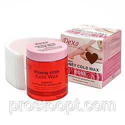 Холодный воск для депиляции Pexo Depilatory Honey Cold Wax Rose