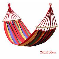 Гамак плотная хб. ткань с подушкой   100*200  см.