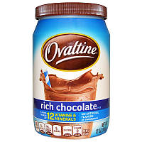 Богатая шоколадная смесь, Chocolate Mix, Ovaltine, 340 г