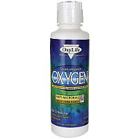 Стаб. кислород, усилитель иммунной системы, Stabilized Oxygen, OxyLife, 473 мл.