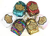 Брелок - кошелек на сумку Корона