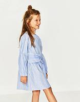 Платье полосатое ZARA 9лет