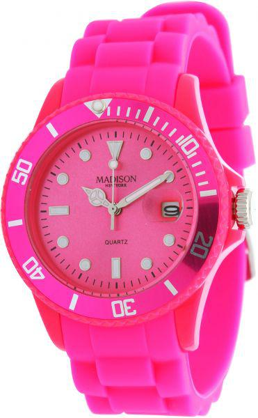 Часы Madison Candy Time Pink
