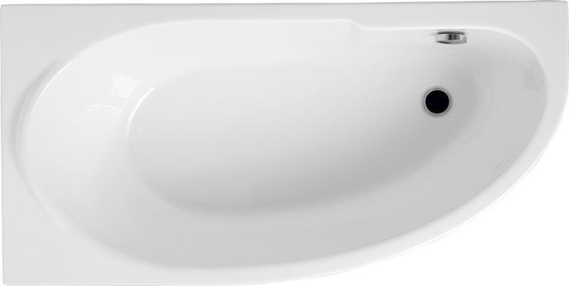 Ванна Polimat Miki асиметрична 140х85, L (00421)