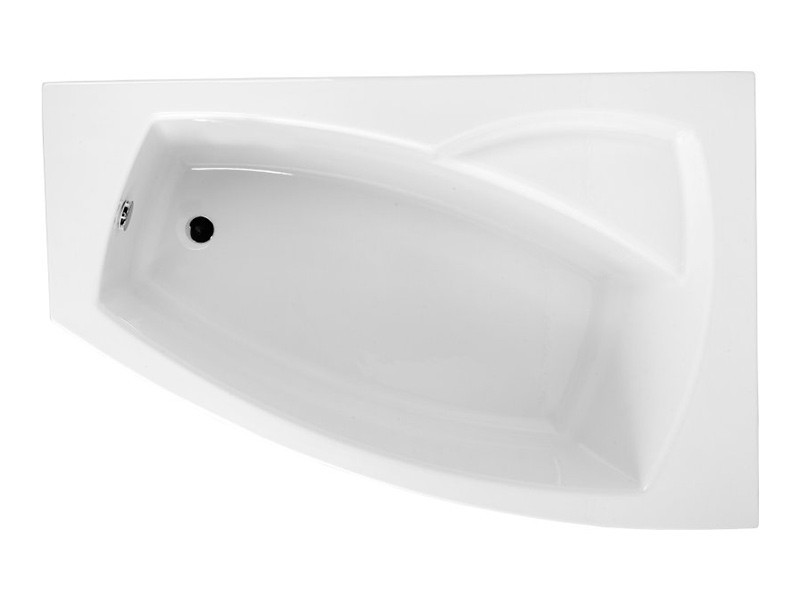 Ванна Polimat Frida 1 асиметрична 160х105, R (00978)