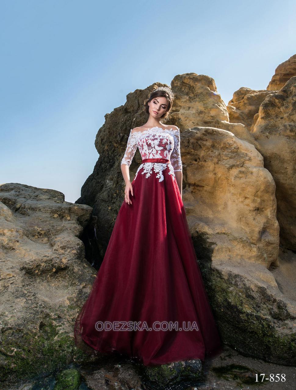 Женское красивое выпускное платье в пол новинка