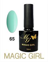 Гель лак 10мл мятный Magic Girl 65