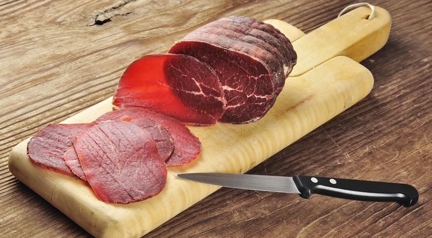 Мясо Брезаола Punta danka