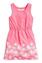 Трикотажное платьице H&M 6-8лет