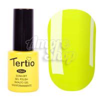 Гель-лак Tertio №119 (темно-желтый, эмаль), 10 мл