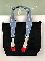Сумка Miss Zapatos (черная,светлые джинсы)