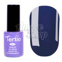 Гель-лак Tertio №120 (серо-синий, эмаль), 10 мл