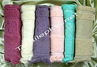 Банные полотенца с бахрамой Gulcan 70*140