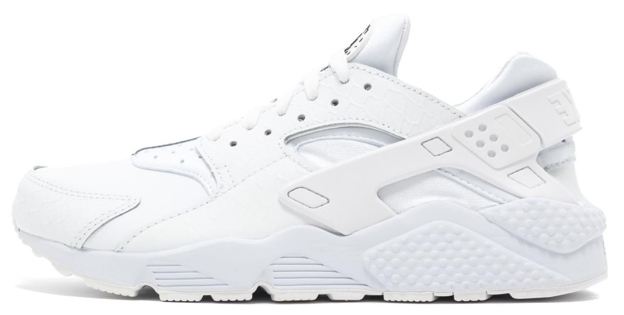 """Женские кроссовки Nike Air Huarache """"White"""" ( Найк Аир Хуарачи) серые"""