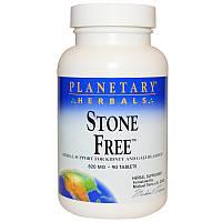 Поддержка почек, Stone Free, Planetary Herbals,  90 таблеток