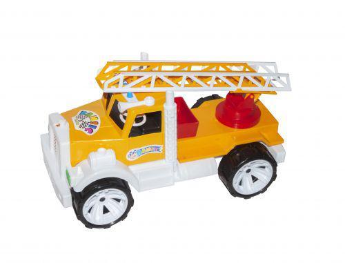 Пожарная машина (желтая) 004