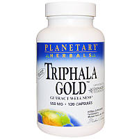 Трифала (Triphala Gold), Planetary Herbals, 550 мг, 120 капсул