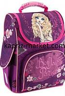 Рюкзак школьный каркасный для девочки, Kite