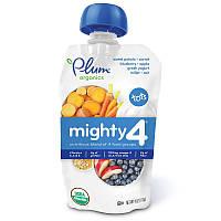 Смесь - пюре, (Mighty 4, Essential Nutrition Blend), Plum Organics, 113 г