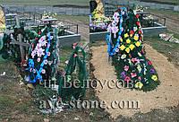 Разовый уход за захоронением в Симферополе, возложение венков