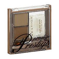 Prestige Cosmetics, Студия придания формы бровям, Светлый/средний, 0,10 унции (2,9 г)