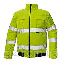 CLOVELLY Сигнальна куртка утеплена 2 в 1