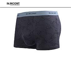 Мужские боксеры стрейчевые  Марка «IN.INCONT»  Арт.3597, фото 2