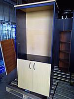 Офисный книжный шкаф в отличном состоянии ОШ-02