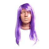 Парик фиолетовый, длинный, фото 2