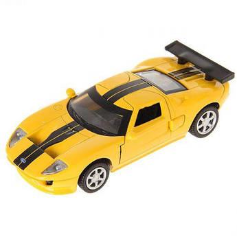 """Машинка """"Ford GT"""" из серии """"Автопром"""" (желтая) 67311"""