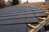 Солнечная крыша от немецкой компании SolteQ по цене обычной.