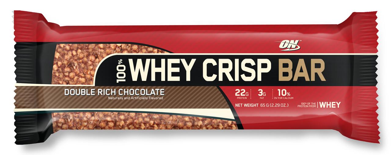 Optimum Nutrition 100% Whey Crisp Bar 65 g
