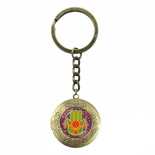 Брелок - медальон от сглаза Хамса