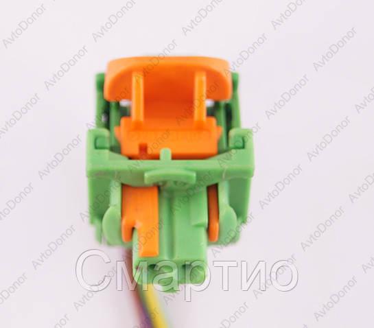Разъем электрический 2-х контактный (7-5) б/у
