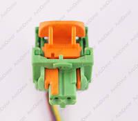 Разъем электрический 2-х контактный (7-5) б/у, фото 1