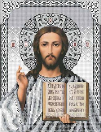 """Схема для вышивки бисером икона """"Иисус Христос"""", фото 2"""