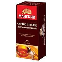 Чай черный Майский Отборный Высокогорный 25 пак.